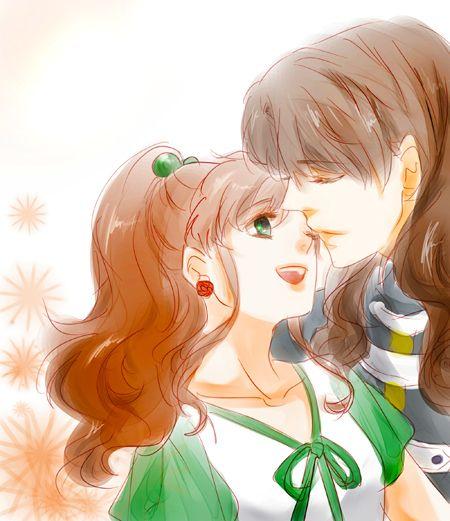 Sailor Jupiter And Nephrite 19 best Makoto x Nephr...