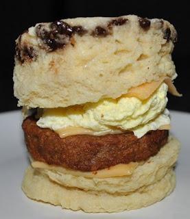 medifast breakfast sandwich heaven