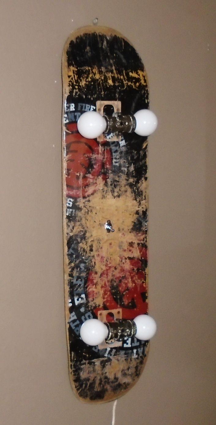 Skateboard Lamp ponad 25 najlepszych pomysłów na pintereście na temat skateboard