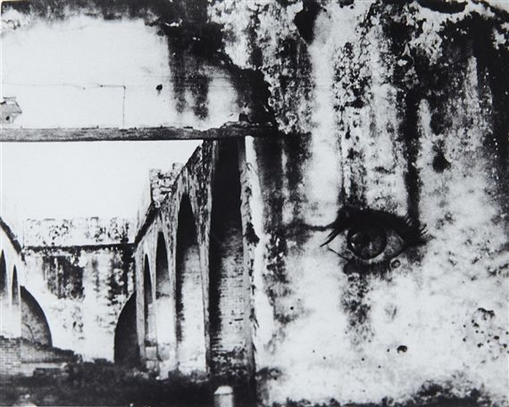 Artwork by Kati Horna, Actopan, Hidalgo Hacienda, Made of gelatin silver print