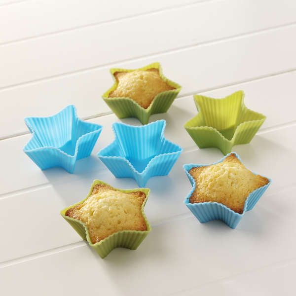 Silicone Star Cupcake Holders