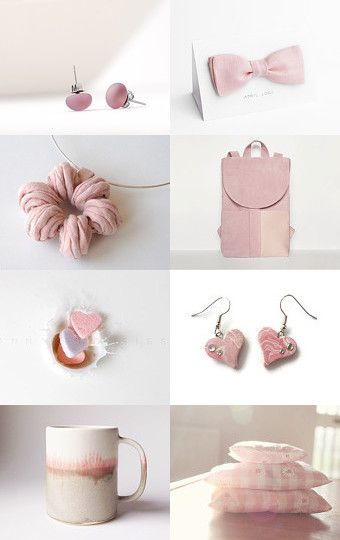 shades of pink by Matylda Mika on Etsy--Pinned with TreasuryPin.com