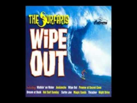 Ron Wilson, drummer with the great instrumental surf band The Surfaris was born today 3-9 in 1944. His drums on the classic 1963 hit song - 'Wipe Out' is one of the best remembered drumming sequences of that music genera. Ron passed in 1989. From 1963 and The Surfaris here's 'Wipe Out.'