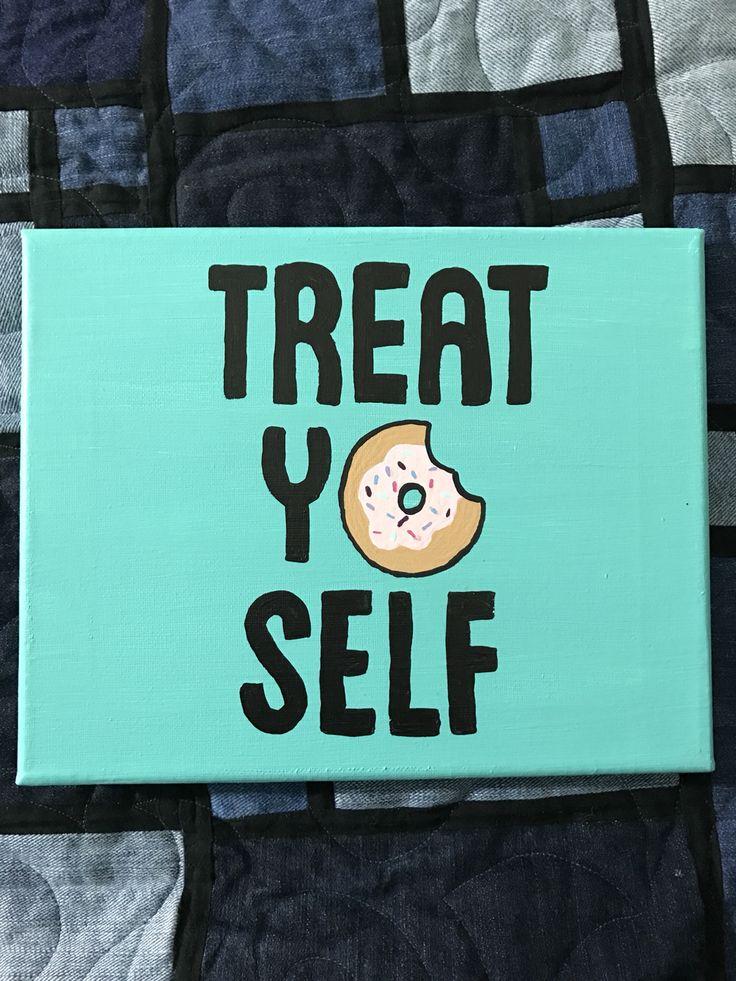 canvas, treat yo self