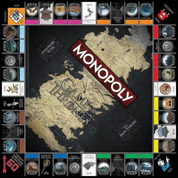 Game Of Thrones Monopoly With Images Game Of Thrones Fans Game Of Thrones Merchandise