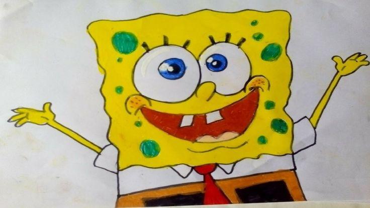 how to draw spongebob squarepants step by step easy