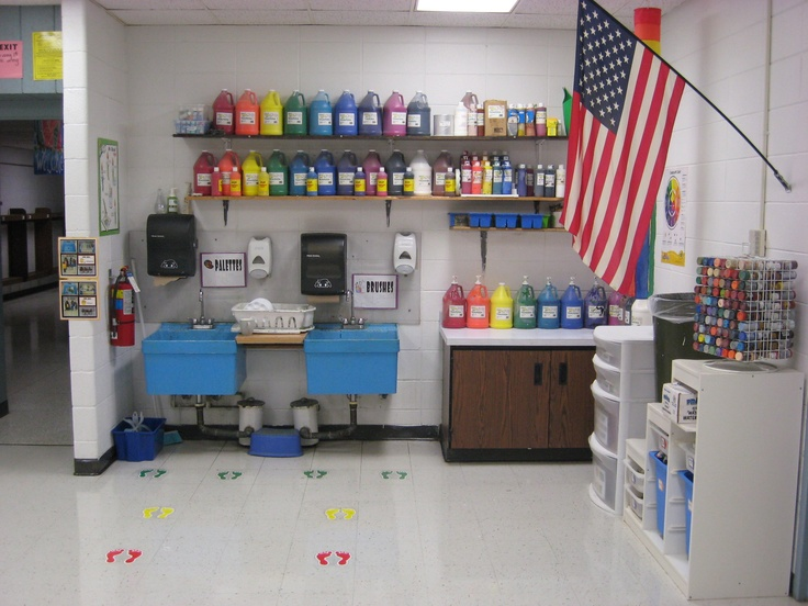 Classroom Organization Ideas Elementary ~ Best art room organization images on pinterest
