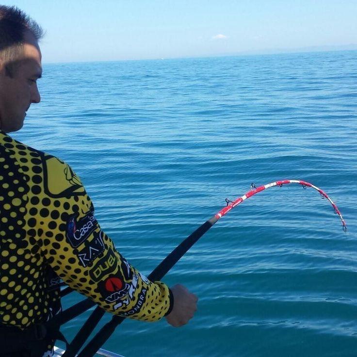 Yes... This is a #bigfish #bigcatch #tunafish #biggame #tunagame #saltwaterfishing #fishing #fishon #thewaterismystadium #tunafishing #instafishing with @casadellapesca @pyrofishing @vmchooks #scorziellosasa by sergioproangler