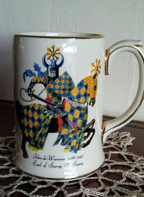 Check out this item in my Etsy shop https://www.etsy.com/uk/listing/592629859/vintage-sadler-pottery-tankard-stein-mug