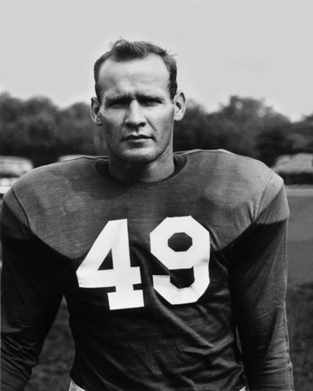 Tom Landry | Tom Landry as a player | Rare NFL Photos
