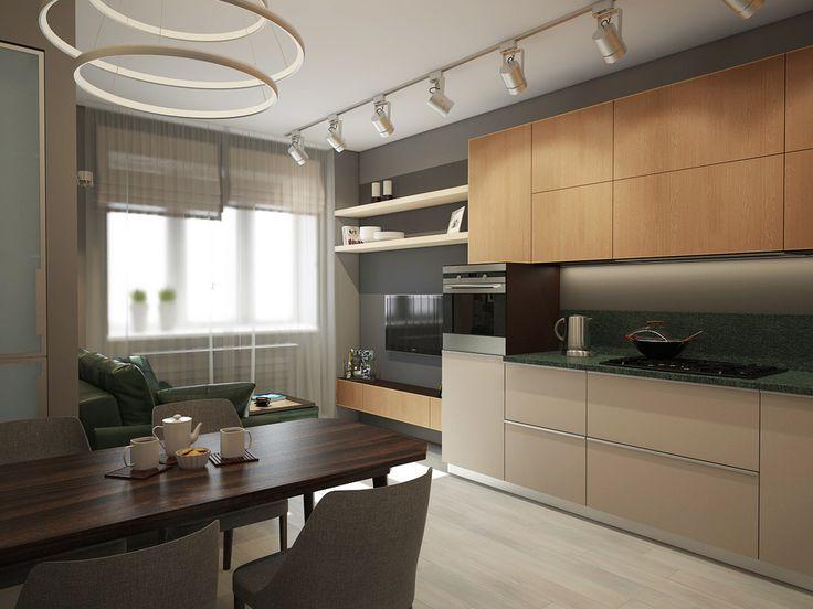 Современный дизайн кухни - ALNO. Современные кухни: дизайн и эргономика   PINWIN - конкурсы для архитекторов, дизайнеров, декораторов