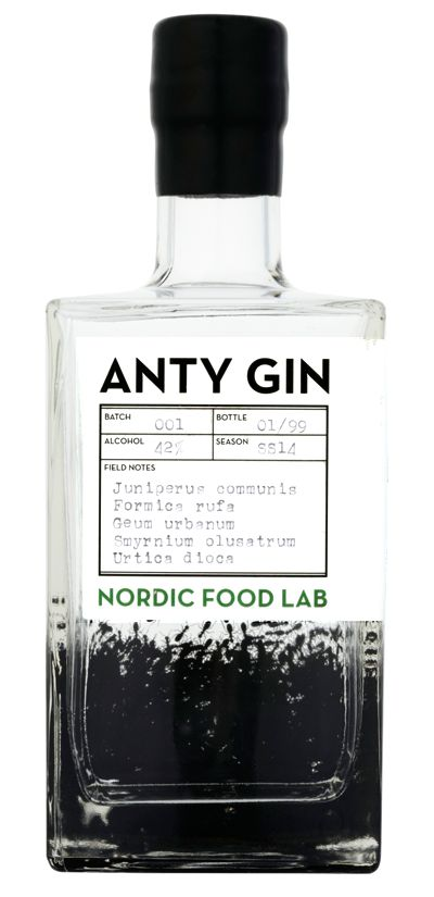 """Each bottle of Anty Gin will contain the essence of approximately sixty-two wood ants. """