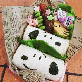 スヌーピーロールサンドイッチ by なんもさんちのご飯 [クックパッド] 簡単おいしいみんなのレシピが243万品