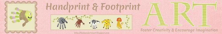 Fun Handprint and Footprint Art