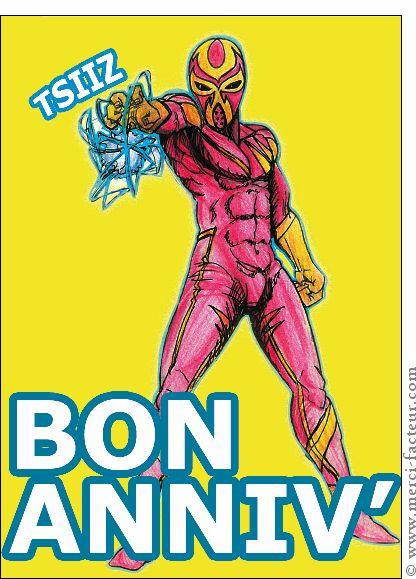 29 best anniversaire carte humour images on pinterest factors comic and humor - Carte anniversaire super heros ...