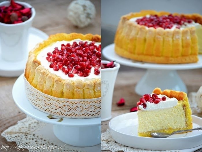 Mascarpone, Amaretto Cheesecake