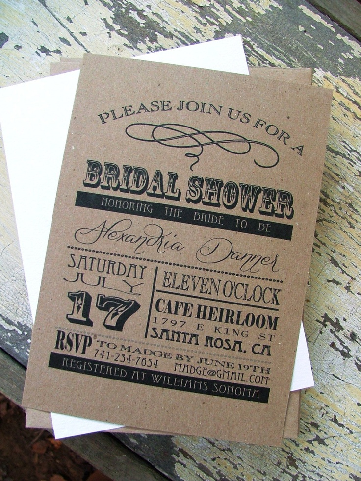 15 Best Images About Vintage Rustic Wedding Invitation Templates On Pinterest