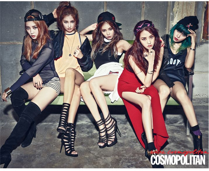 Name the kpop girl group by picture Quiz - By kpopenguin