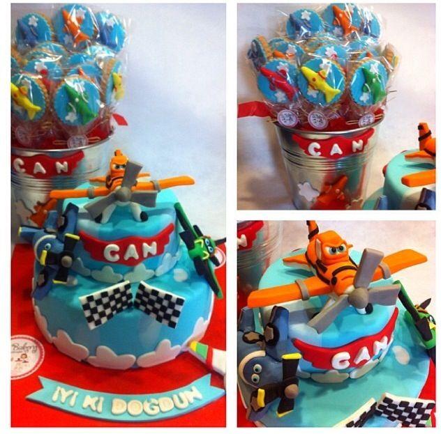 Disney plane cake idea