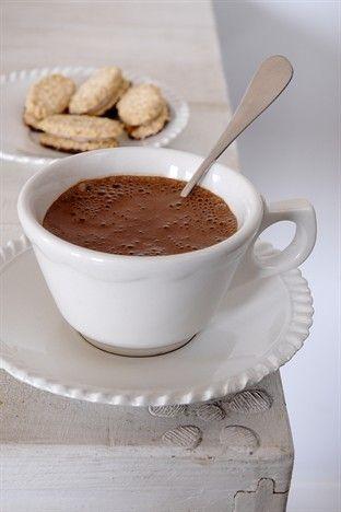 Chocolat chaud à l'ancienne -