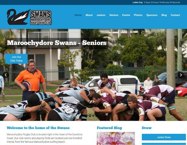 http://maroochyrugby.com.au/ Website - Maroochydore Swans Rugby Club