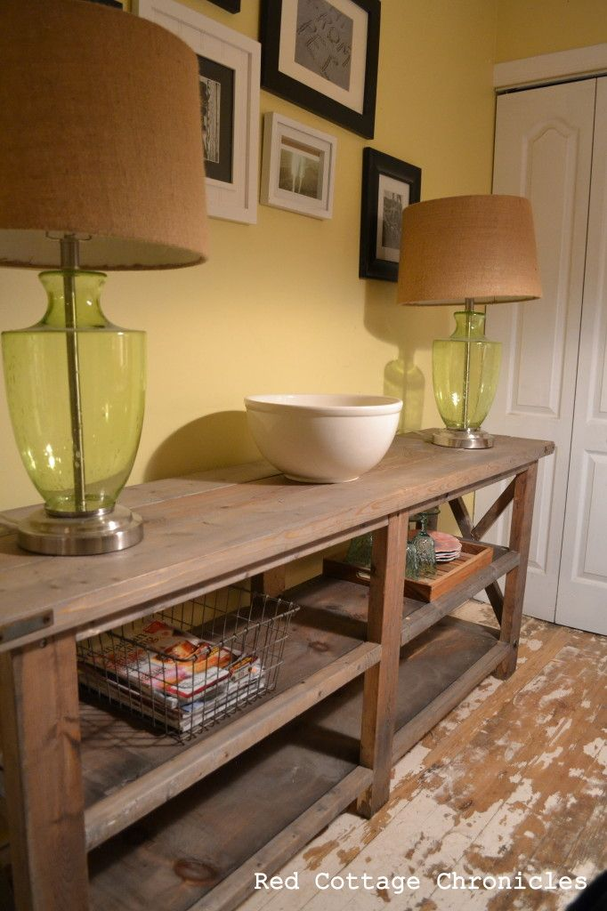 Build Buffet Table Plans Woodworking Projects Amp Plans