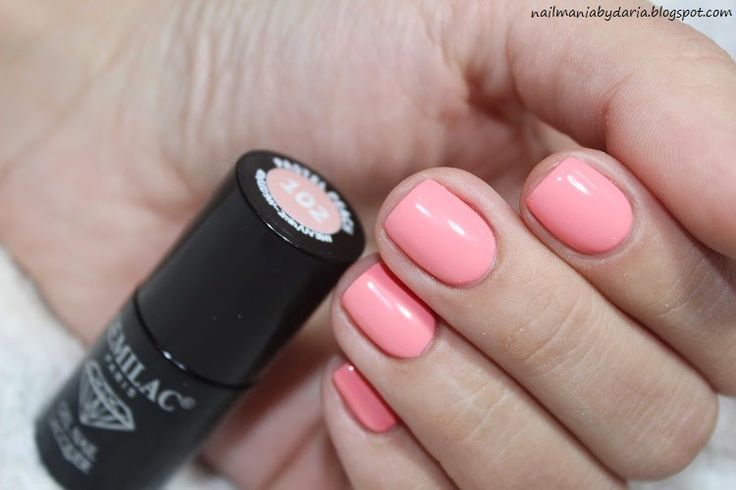 Stylizacja i Pielęgnacja Paznokci Naturalnych : Semilac, 102 Pastel Peach ♥