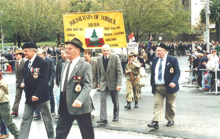 Anzac day march 25th april every year never ever missed.