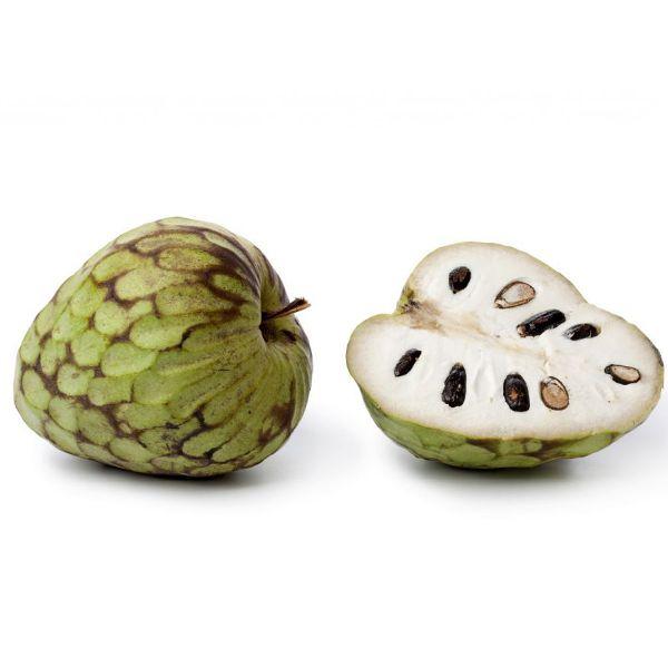 Krem Elma- Cherymoya Güney Amerika'nın yüksek yamaçlarında yetişen meyvenin kabuğunun altında sulu, güzel kokulu, beyaz kremamsı bir yapı vardır. Muz, mango, papaya ve ananas bileşimi bir tada sahiptir.