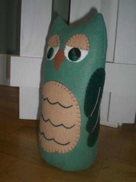 Owl Doorstop Directions | Wee Folk Art