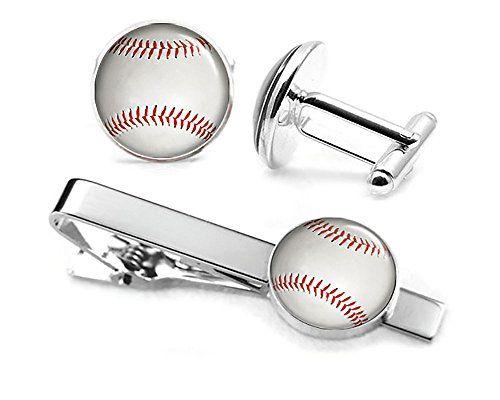 Baseball Cufflinks, MLB Baseball Tie Clip, Softball Jewelry, Sports Fathers Day Gift, Wedding Party Gifts, Groomsmen Groomsmen Presents  http://www.yourneckties.com/baseball-cufflinks-mlb-baseball-tie-clip-softball-jewelry-sports-fathers-day-gift-wedding-party-gifts-groomsmen-groomsmen-presents-2/