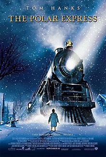 the polar express, already cant wait to watch at christmas!!  This is one of Scotty's favorite movies!  No it doesn't have to be Christmas time!