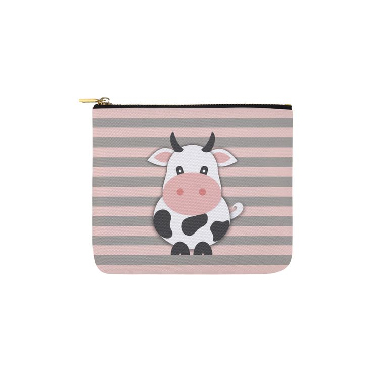 Cute Cow Carry-All Pouch 6