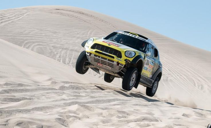 nice Mini Cooper Countryman ALL4 Racing Dakar Rally car