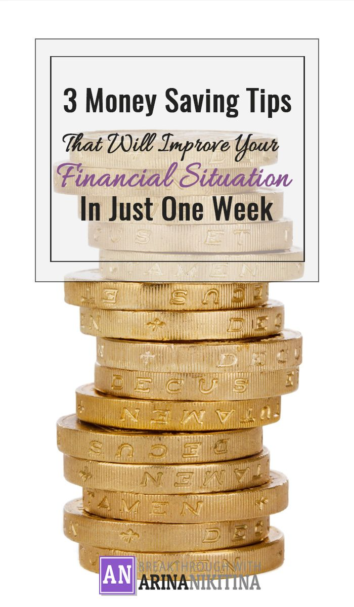 Learn how to save from $20 to $350 in a week!~