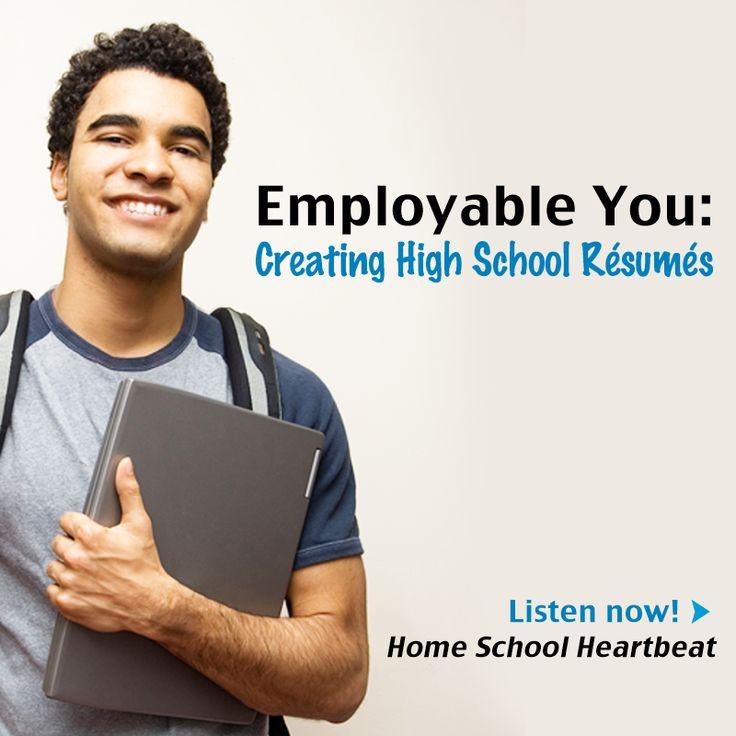 High School Resume Pinterestu0027te hakkında 1000u0027den fazla fikir - teen resume examples
