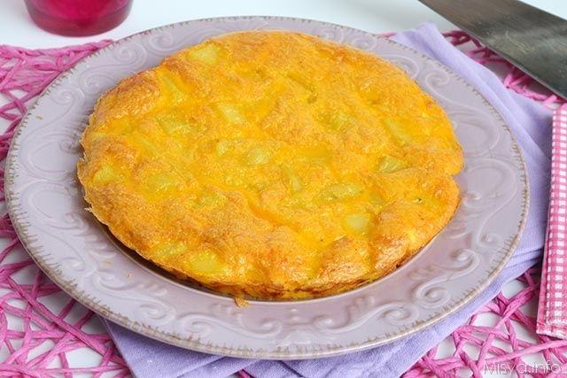 » Frittata di patate Ricette di Misya - Ricetta Frittata di patate di Misya