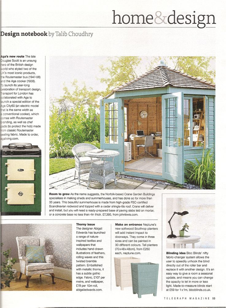 Bloc Blinds' Fabric Changer system featured in the 7th June issue of the Daily Telegraph Magazine. Very 'nifty' indeed! #windowtreatments #blocblinds #blinds