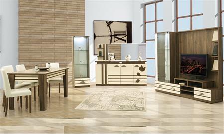 -Özlem modern yemek odası takımı içerisinde gümüşlük, konsol, tv ünitesi, masa ve 6 sandalye vardır. -Özlem yemek odası takımı fonksiyonel özellikleri ile oldukça rahat ve şık bir takımdır.
