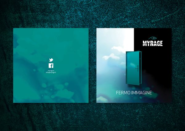 Myrage - Fermo Immagine, booklet cd by Creative Point, via Behance