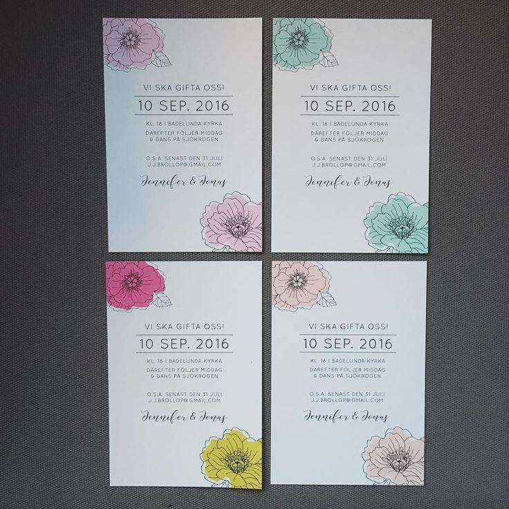 Trädgårdspioner #inbjudningskort #inbjudan #bröllopsinbjudningar #bröllopsinbjudan #bröllopskort #pion #pioner