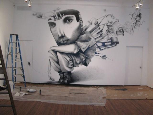 Artă urbană - Claudio Ethos | 21art