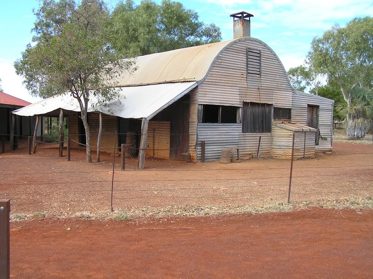Outer building Millstream Homestead
