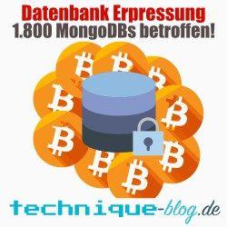 Datenbanken Lösegeld Erpressung