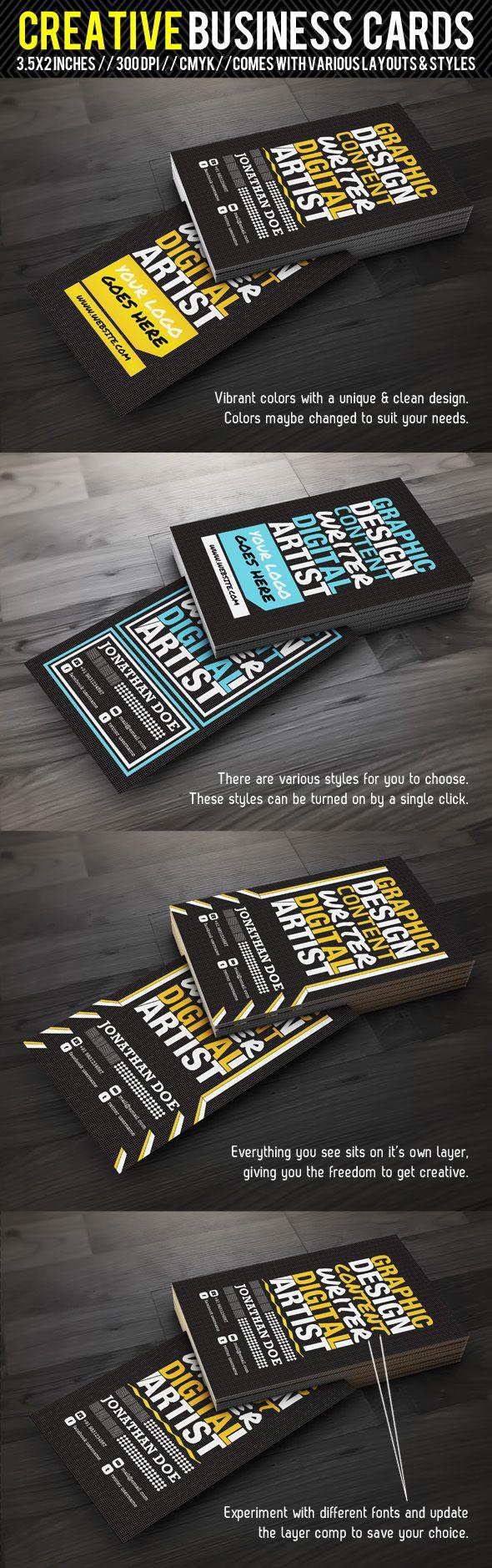 Creative Designer Business Card 2 by ~ShermanJackson on deviantART