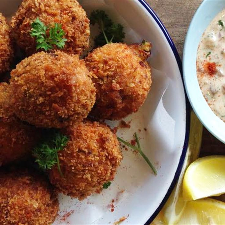 Try this Croquettes with Pancetta and Thyme recipe by Chef Paul West . This recipe is from the show River Cottage Australia.