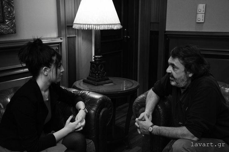 Συνέντευξη με τον σκηνοθέτη κινηματογράφου και θεάτρου και καθηγητή Περικλή Χούρσογλου - Συνέντευξη: Άννα Ηλιαδέλη - Φωτογραφίες: Σοφία Γκορτζή