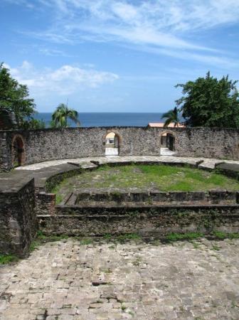 Martinique, Ruines du Theatre de St Pierre after the volcano