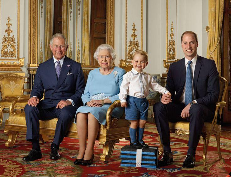 Príncipe George protagonista da fotografia que assinala 90.º aniversário da rainha Isabel II - Caras