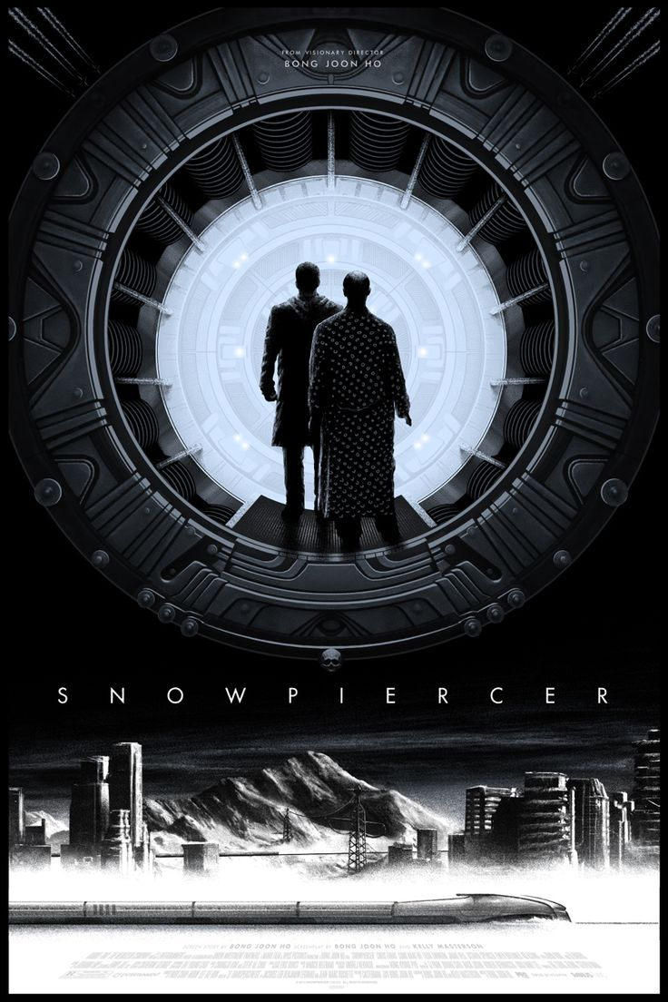 This PerfectSnowpiercer Poster Takes You All The Way To The Front of the Train